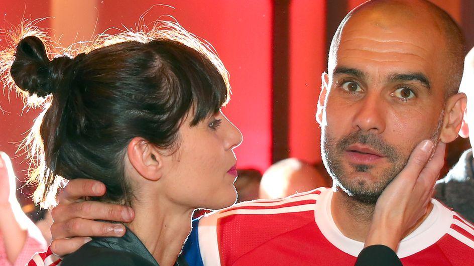 Pep Guardiola y su mujer se casan tras 20 años de relación