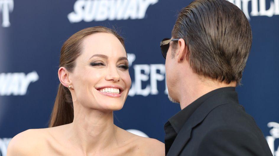 """Brad Pitt, atacado por un periodista ucraniano en el estreno de """"Maléfica"""""""