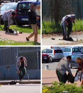 Video/ Un senzatetto ha bisogno di aiuto: le reazioni dei passanti. E tu cosa fa