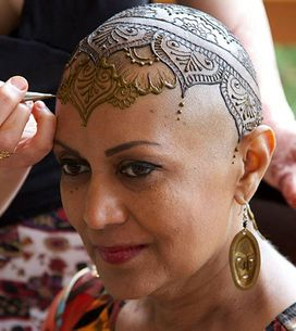 Beating Cancer Never Looked So Beautiful: How Henna Helps Patients Cope With Hair Loss