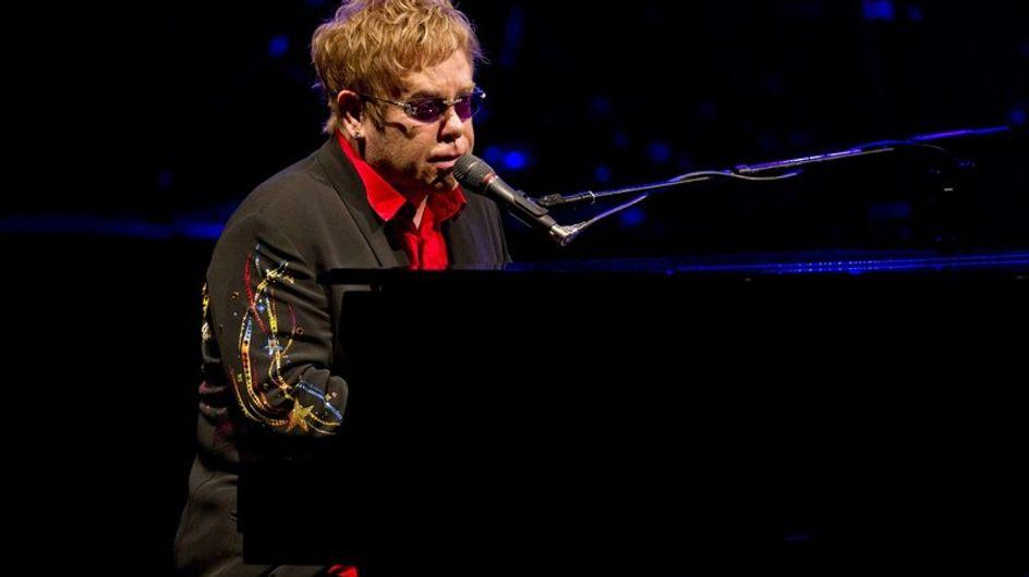 """Elton John: """"Esnifé tanta cocaína que es un milagro que esté vivo"""""""