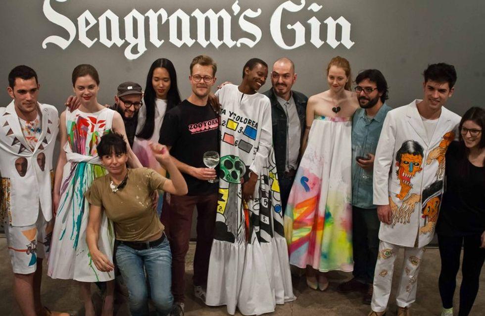 La exposición Seagram's Gin by Duyos & Urban Artists une moda y arte