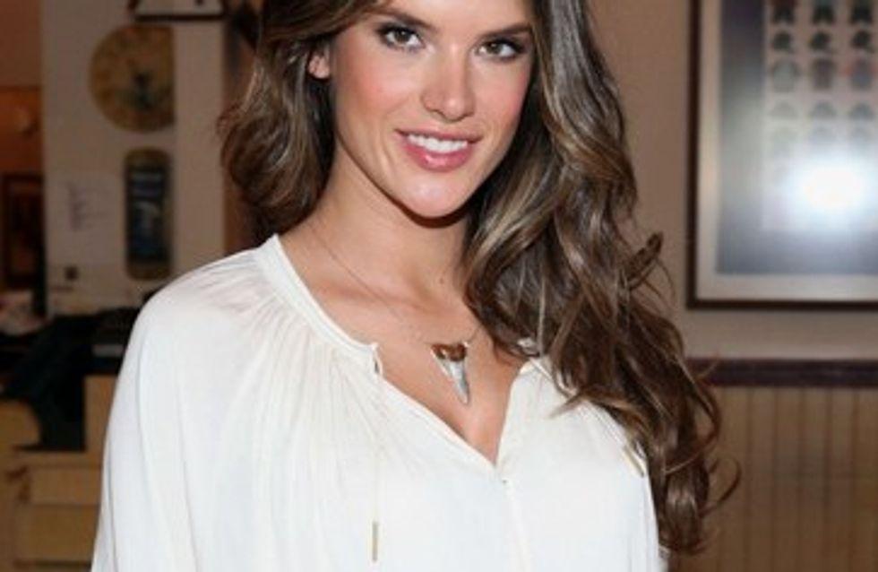 Alessandra Ambrosio está embarazada de un niño