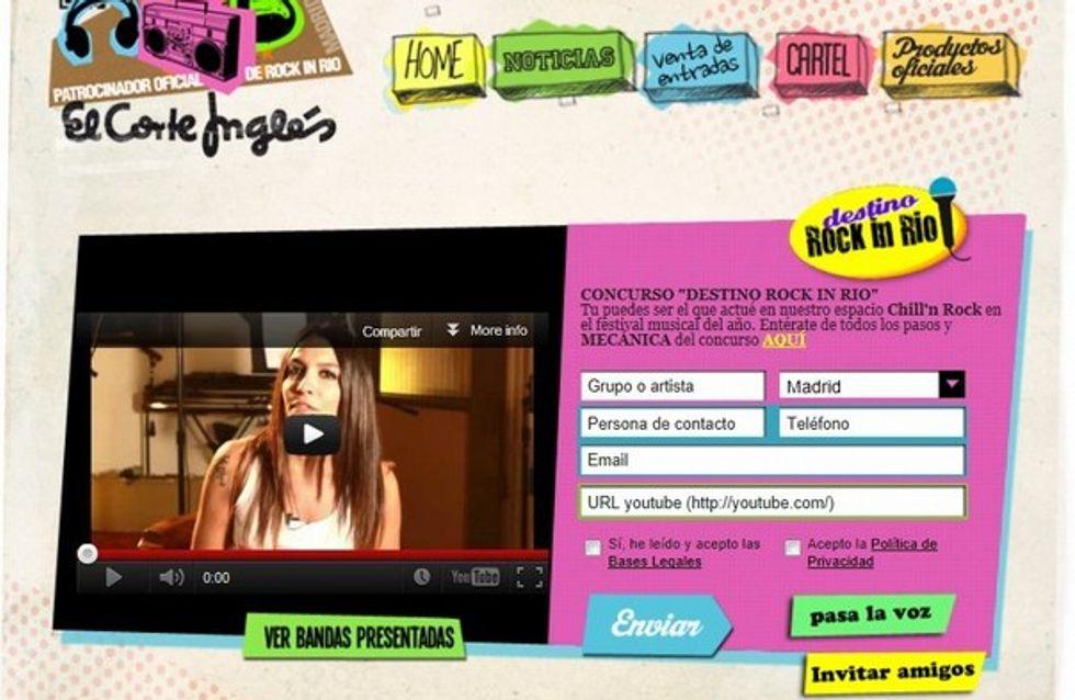 'Destino Rock In Rio', un concurso para talentos musicales
