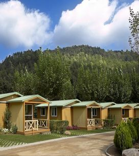 ¡Escápate a un bungalow en mitad de la naturaleza!
