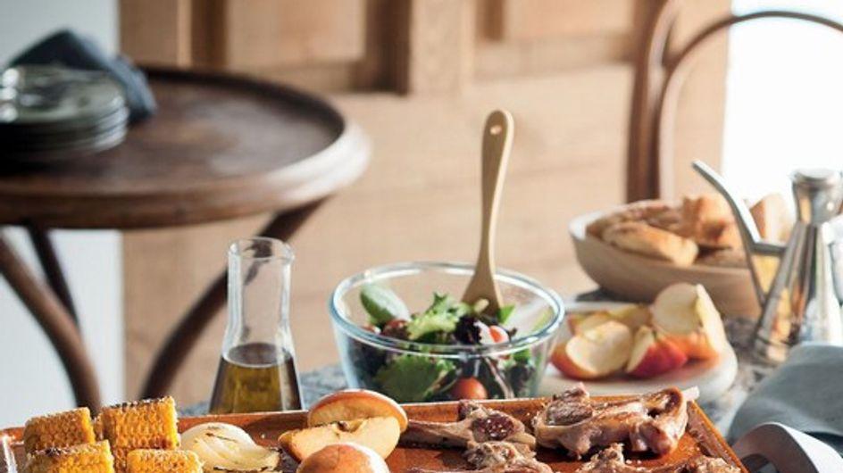 Cocina sano y sabroso, a la plancha
