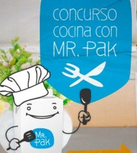 Participa en 'Cocina con Mr. Pak' con tu mejor receta