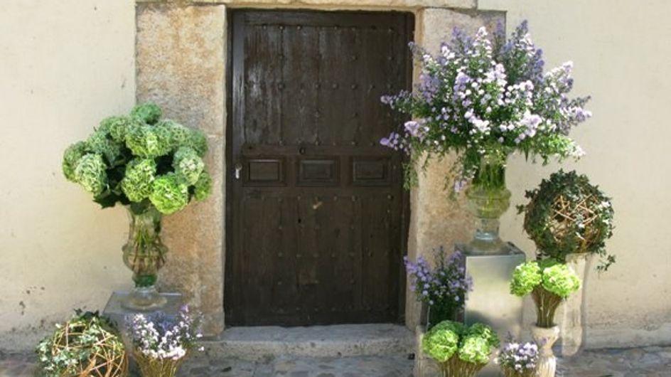 Direcciones secretas: decoración floral