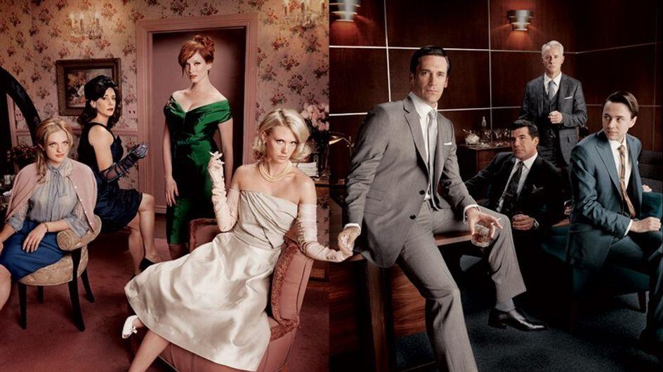 Mad Men y American Horror Story favoritas de los Emmy 2012