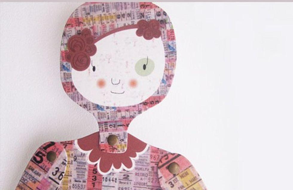 Mow, ¡muñecos de cartón articulables!