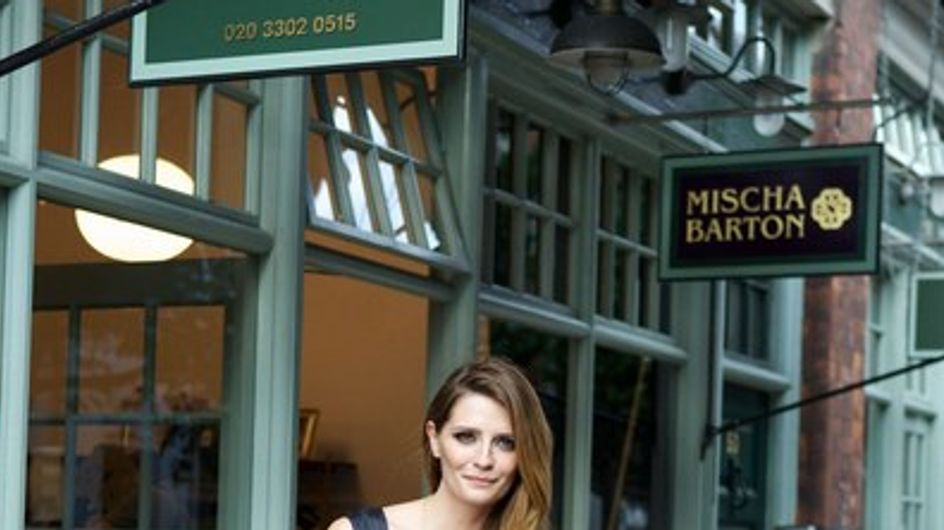 Mischa Barton abre su primera tienda de ropa y complementos