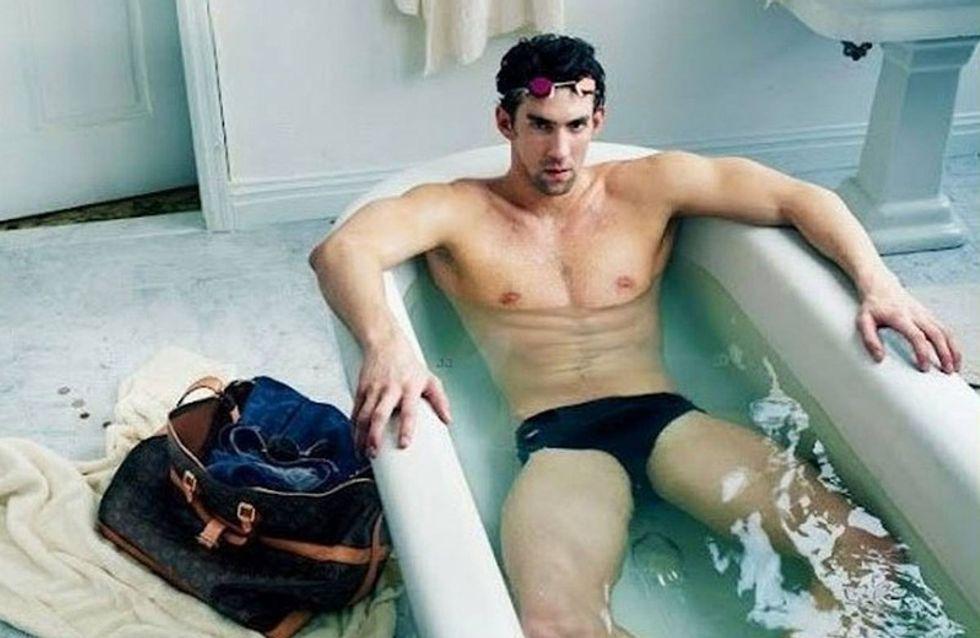 Michael Phelps ficha por Louis Vuitton