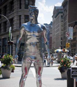 H&M convierte a David Beckham en estatua en Nueva York