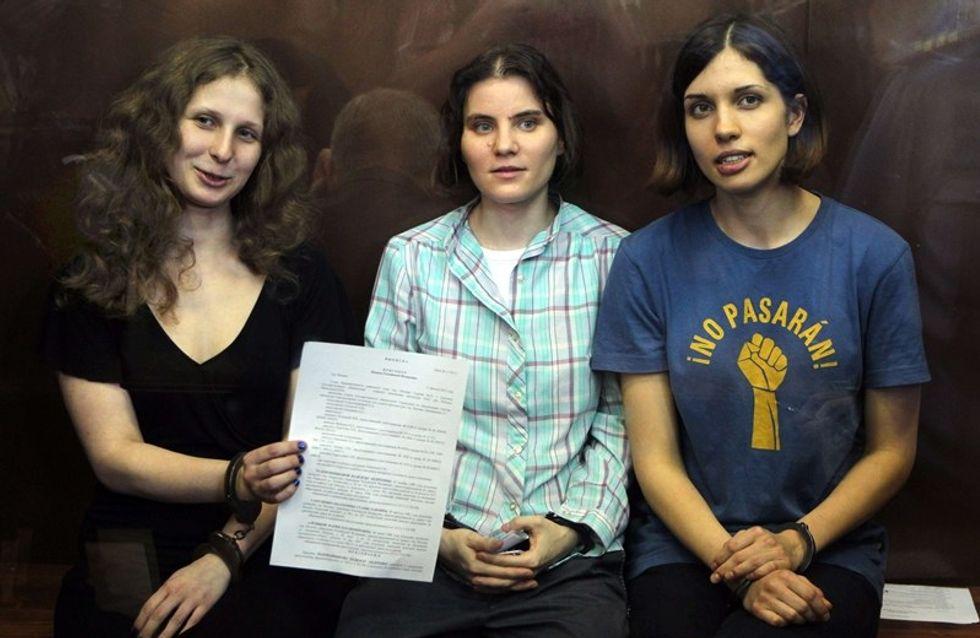 Dos años de cárcel para las Pussy Riots