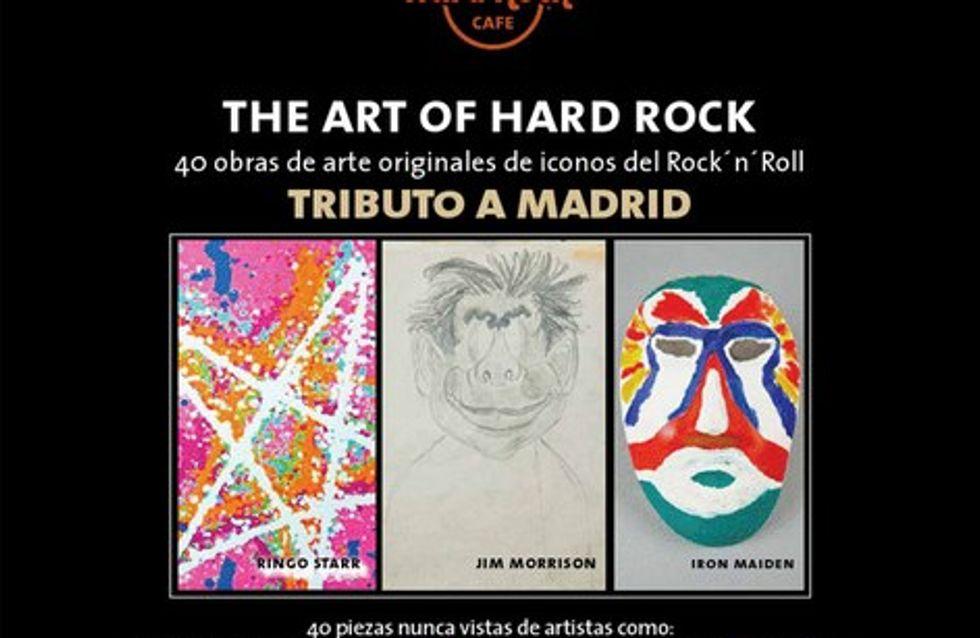 La exposición The Art of Hard Rock llega a España