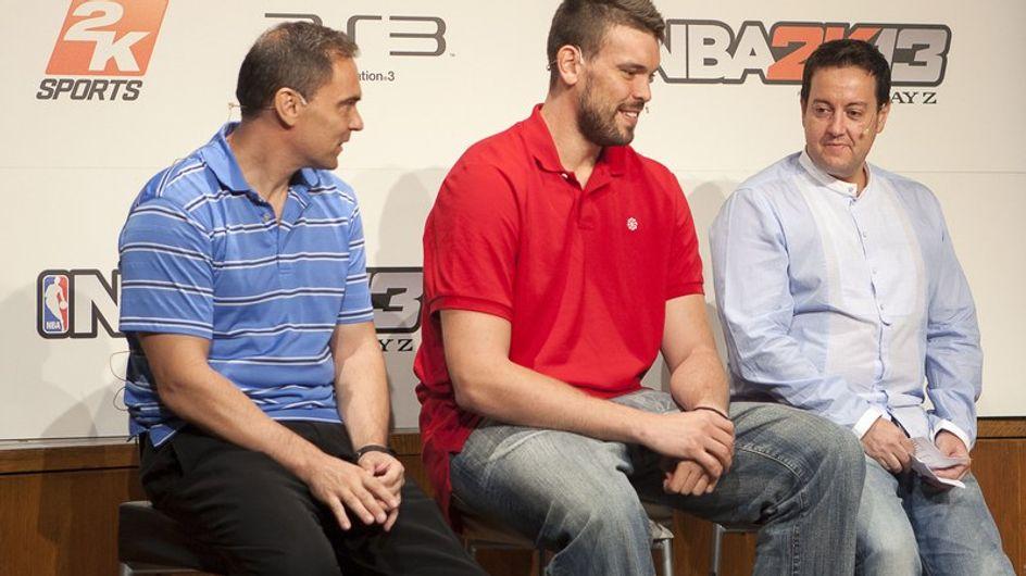 Marc Gasol es la imagen del videojuego NBA 2K13