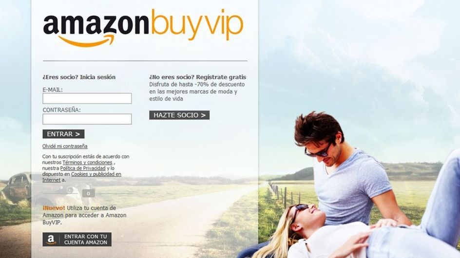 BuyVip se integra en Amazon