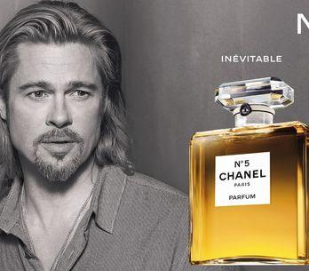 Brad Pitt, el primer hombre imagen de Chanel Nº5