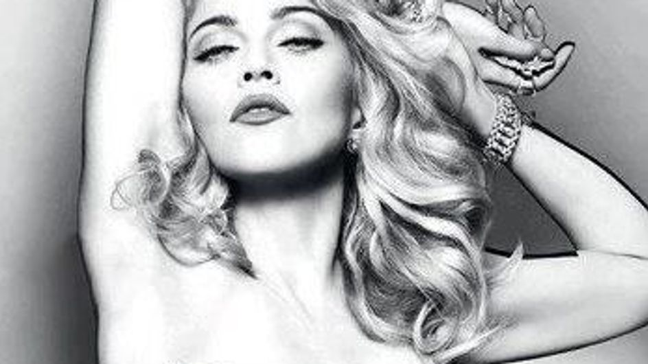 Madonna vuelve a posar desnuda