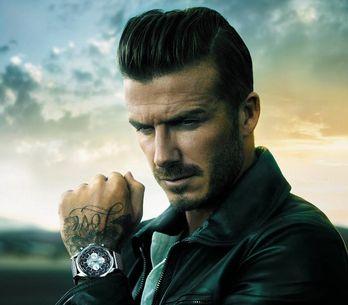 David Beckham, nueva imagen de los relojes Breitling