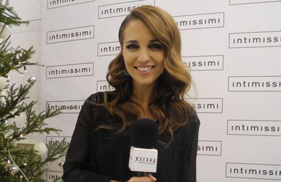 Paula Echevarría, sexy y guapa para Intimissimi