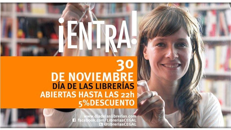 ¡Hoy celebramos el Día de las Librerías!
