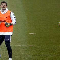 Iker Casillas descubre sus trucos como guardameta