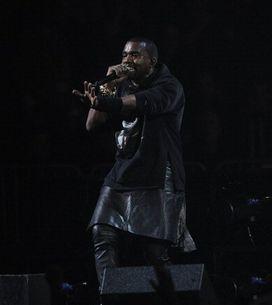 Kanye West se atreve con una falda de Givenchy