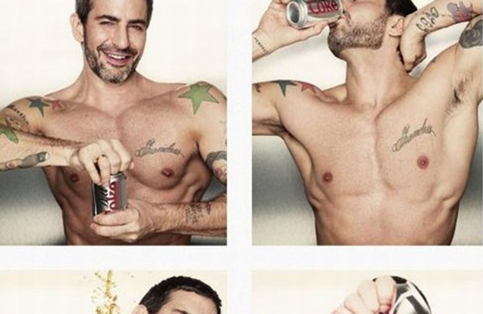 Marc Jacobs se convierte en el director creativo de Coca Cola Light