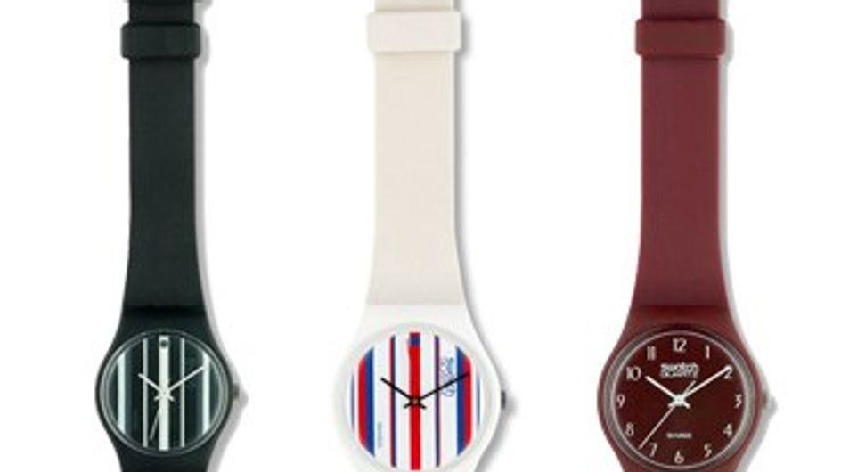 """La firma de relojes """"Swatch"""" cumple 30 años"""