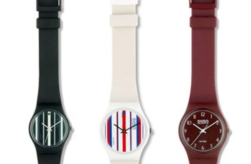 La firma de relojes Swatch cumple 30 años