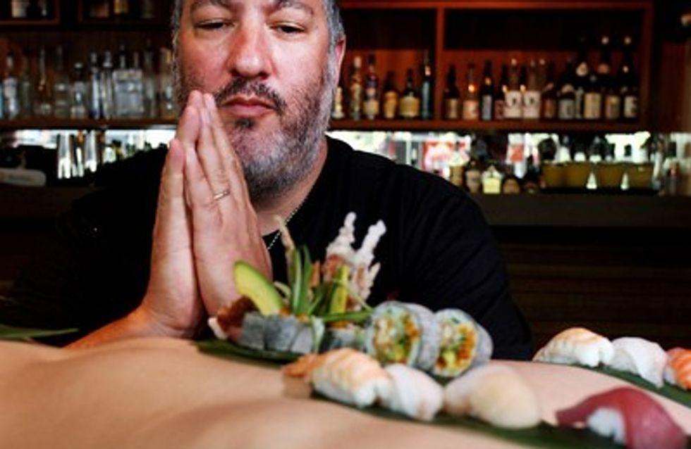 ¿Conoces el body sushi?