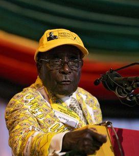 El presidente de Zimbabue pone su firma a una marca de moda