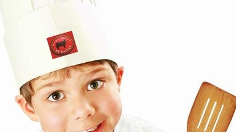 Ahora los niños también cocinan con Rubaiyat