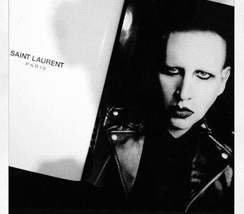 Saint Laurent se rinde a Marilyn Manson