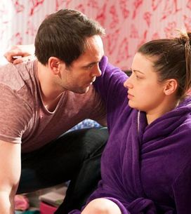 Hollyoaks 10/06 – Jason reels from his discovery