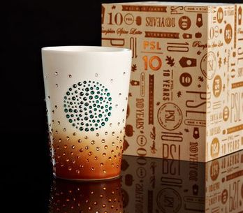Starbucks y Swarovski crean una taza de lujo