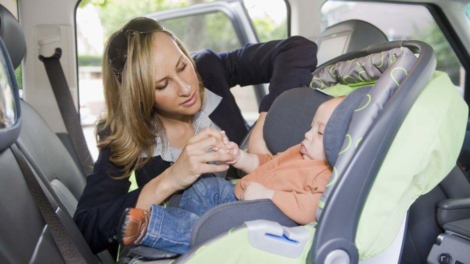 """La DGT aumenta los controles de uso del cinturón y las """"sillitas"""" infantiles"""
