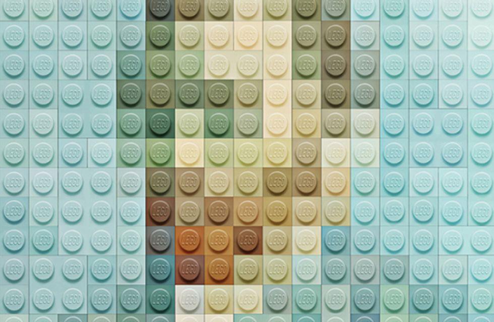 Les chefs d'œuvre de la peinture revisités en briques LEGO®