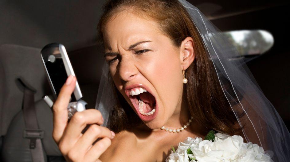 10 scénarios catastrophe qui font flipper toutes les mariées