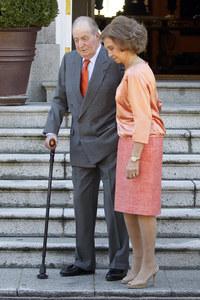 El rey Don Juan Carlos y Doña Sofía