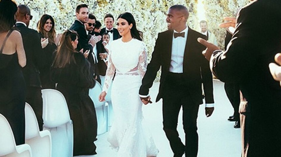 Kim Kardashian : Zoom sur son maquillage de mariée