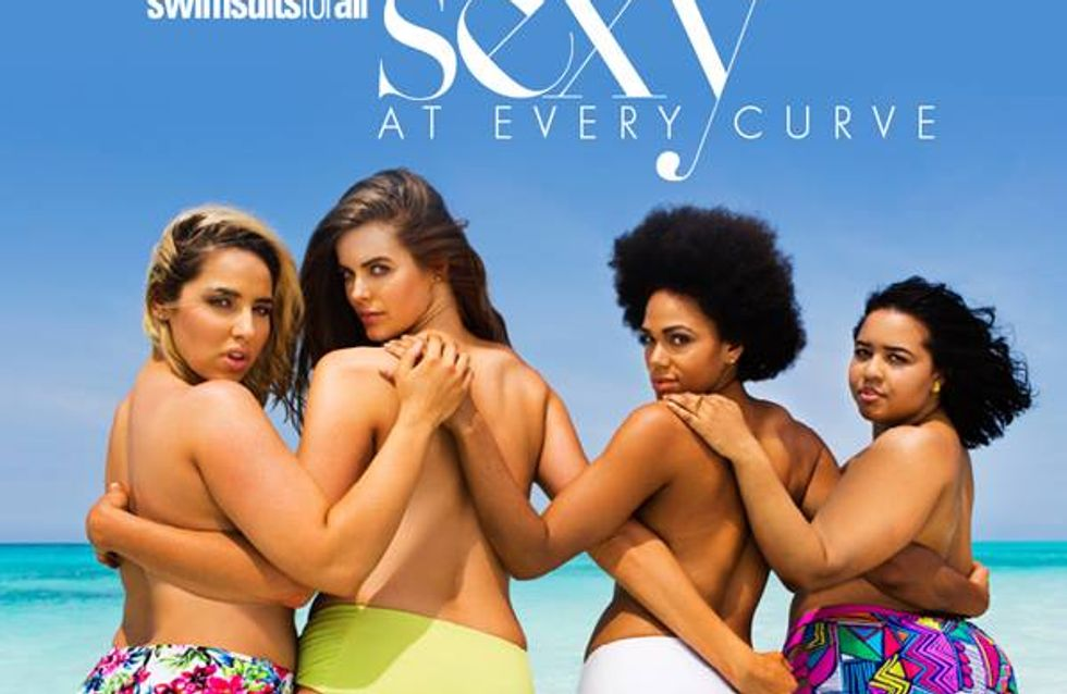 Swimsuits For All : Le calendrier sexy des mannequins grande taille en bikini