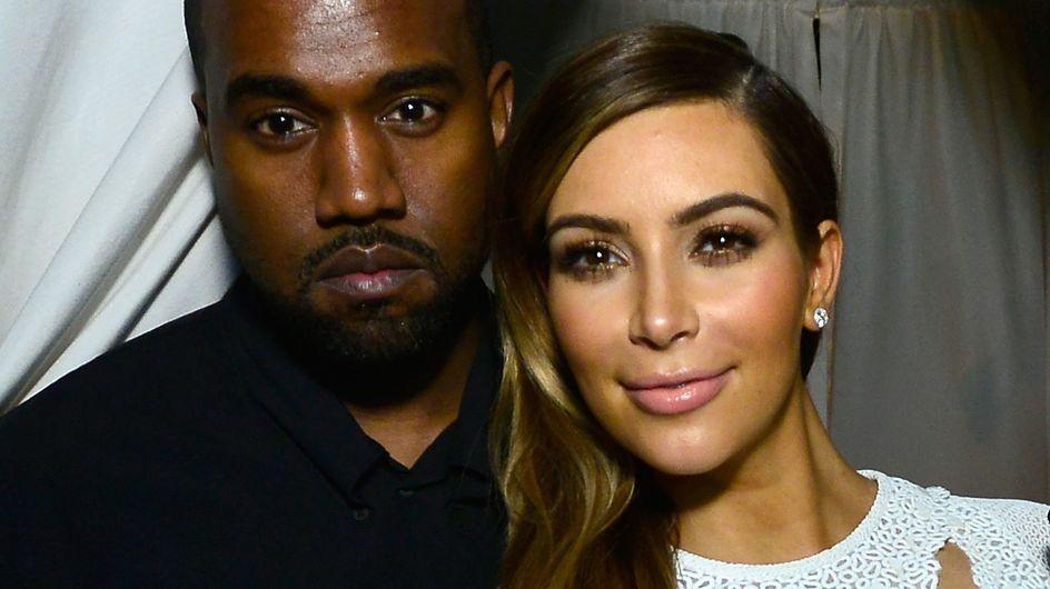 Kanye West : Son drôle de cadeau de mariage à Kim Kardashian…