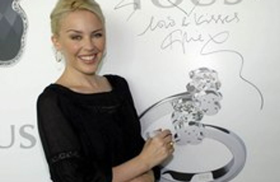 Kylie Minogue, nueva imagen de Tous