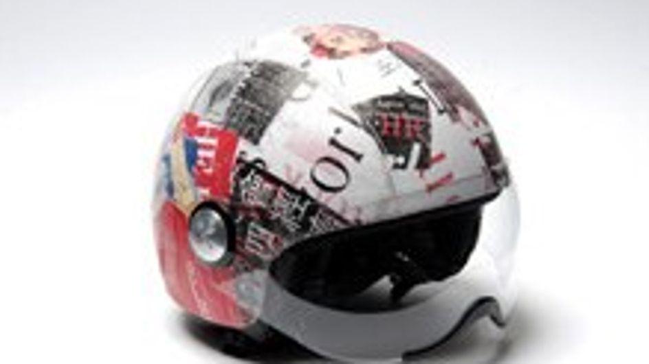 Aïta presenta sus originales cascos de moto