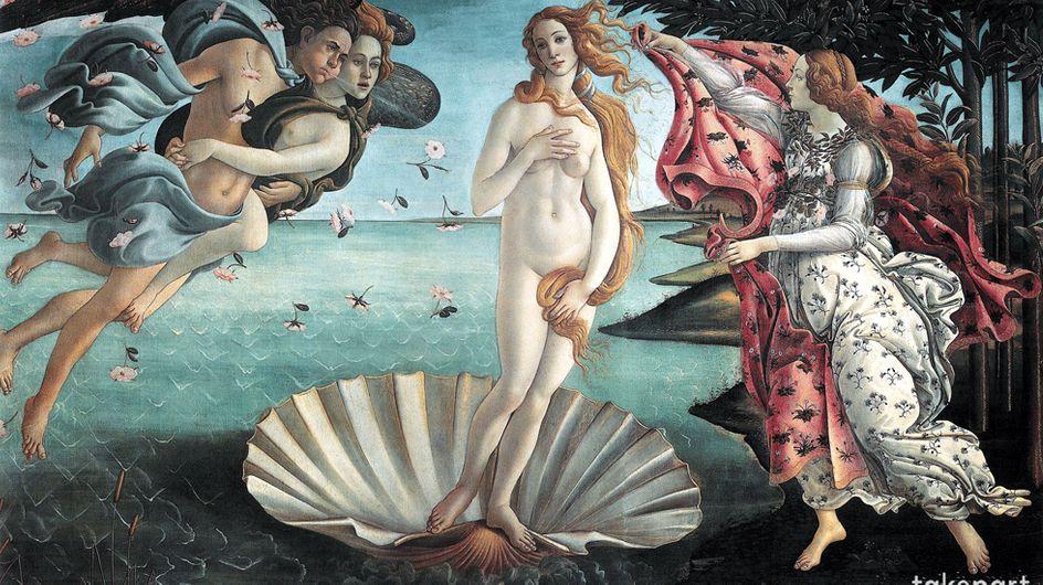 E se Photoshop fosse esistito ai tempi di Botticelli e Goya? I dipinti sarebbero stati decisamente diversi...