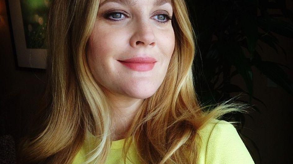 Drew Barrymore : Elle s'affiche sans maquillage (Photo)