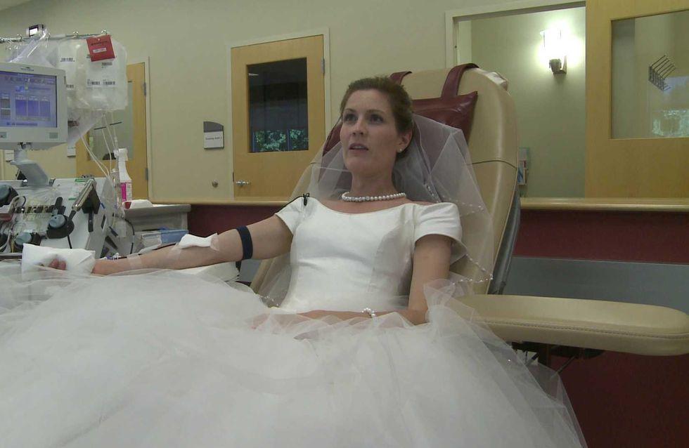 Le jour de leur mariage, ils décident de sauver des vies