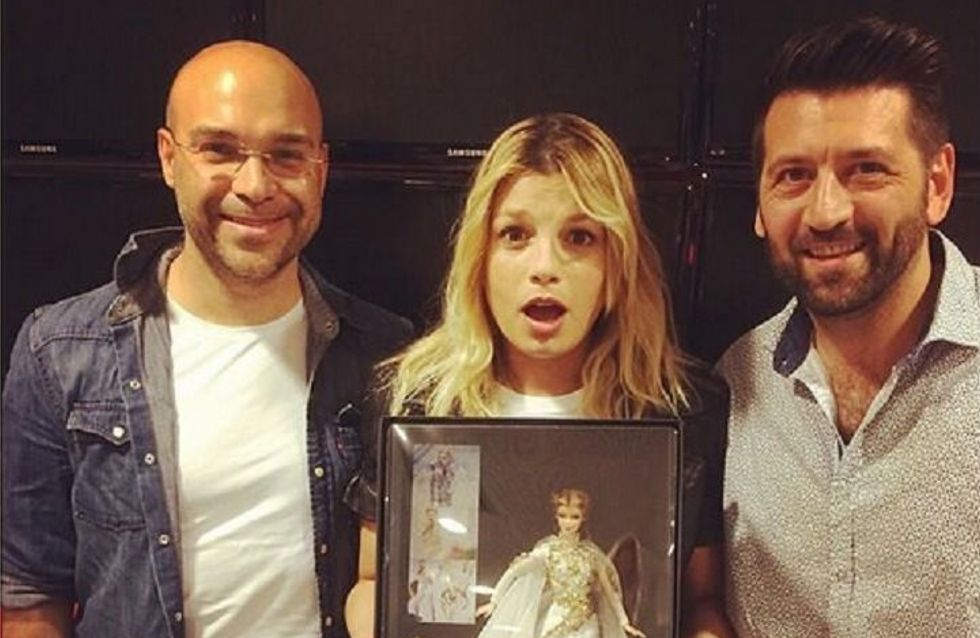 """Emma Marrone diventa una Barbie! Le foto della cantante in versione """"bambola"""""""